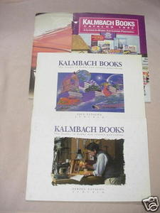 4 1990s Kalmbach Book Catalogs Model Trains, RC