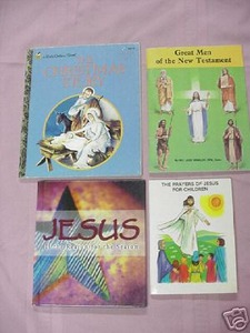 4 Books on Jesus LGB Reason For The Season Great Men