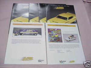 4 Johnny Lightning Collectible Diecast 2000 Catalogs