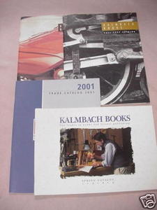 4 Kalmbach Book Catalogs Model Trains, Models, RC