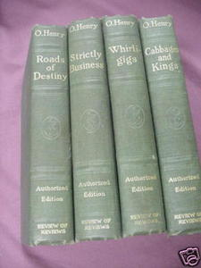 4 O. Henry 1917 Books Roads of Destiny, Whirligigs ++