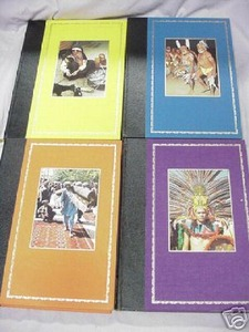 4 Peoples and Customs of the World 1979 HC Books
