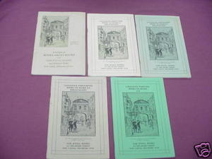 5 Issues Oak Knoll Books Catalog #46, 47, 48, 49, 50