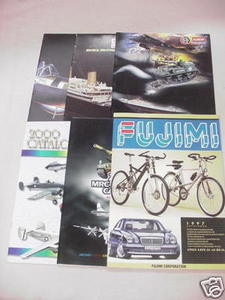 5 Minicraft & Academy Model Catalogs & Fujimi Catalog