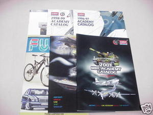 5 Minicraft & Academy Model Catalogs-Fujimi Catalog