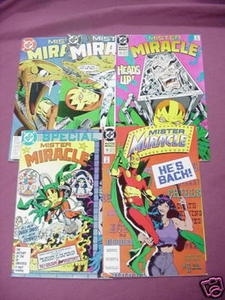 5 Mister Miracle DC Comics #2, 11, 12, 19, Special #1