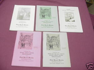 5 Oak Knoll Books Catalogs #157, 158, 159, 163, 164