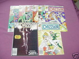 6 Dazzler Marvel Comics from 1982 #11, #16 thru #22
