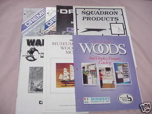 7 1990's Hobby Catalogs Demel, Midwest, Scientific