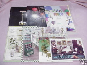 7 Dollhouse Catalogs Cir-Kit Concepts, Concord, Amaco