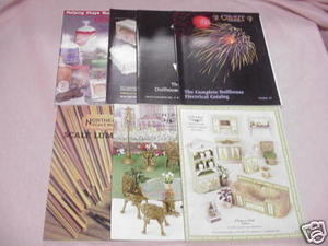 7 Dollhouse Catalogs Concord, Cir-Kit