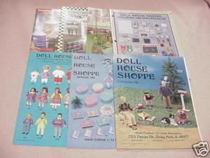 7 Dollhouse Catalogs Concord, Doll House Shoppe