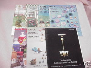 7 Dollhouse Catalogs Doll House Shoppe