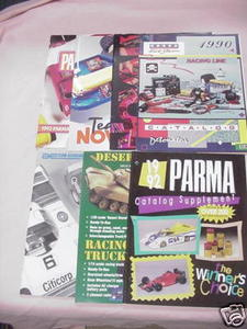 7 Radio Control Catalogs Parma, Associated, Novak RC