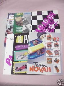 7 Radio Control Catalogs Parma, Novak RC