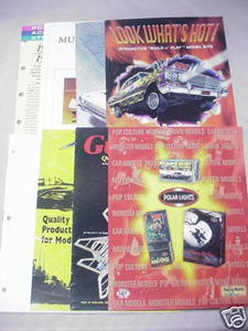 8 1990s Hobby Catalogs Lindberg, Dremel, Polar Lights
