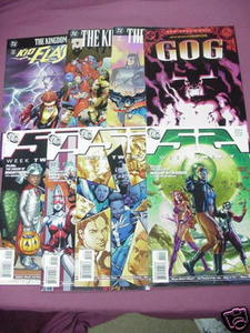 8 DC Comics The Kingdom #1, #2, S2 Week 20, 21, 24, 25
