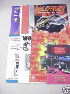 8 Model Catalogs Lindberg, Hoppin' Hydros, Polar Lights