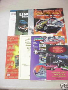 8 Model Catalogs Lindberg + Hoppin' Hydros, Polar Lights