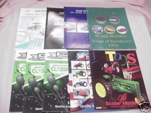 9 1990's Scale Models Diecast Kits Catalogs Die-Cast
