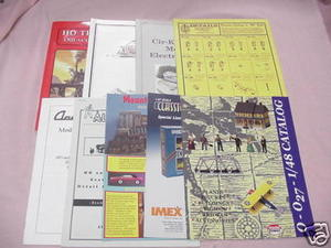 9 Model Railroading Catalogs Details West, Model Power