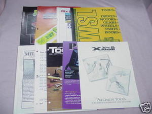 9 Model Railroading Catalogs Rix, Praline, CMI