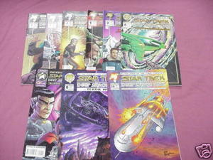 9 Star Trek Deep Space Nine Comics The Maquis #1, 2, 3