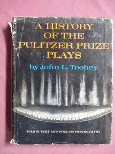 A History of the Pulitzer Prize Plays Toohey HCDJ 1967