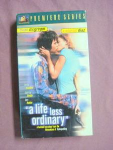 A Life Less Ordinary VHS Cameron Diaz Ewan McGregor