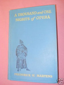A Thousand And One Nights of Opera HC Martens 1926