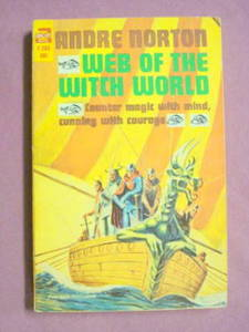 Ace F-263 Web of the Witch World Andre Norton 1964 PB