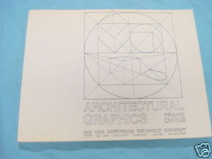 Architectural Graphics by Frank Ching Softcover 1975