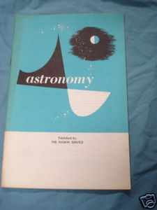 Astronomy by The Haskin Service 1960 booklet
