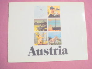 Austria 1972 Travel Softcover Book