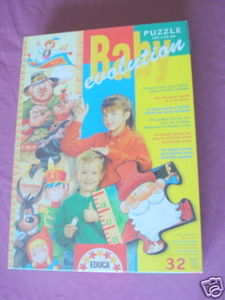 Baby Evolution Puzzle By Educa To Measure Height New