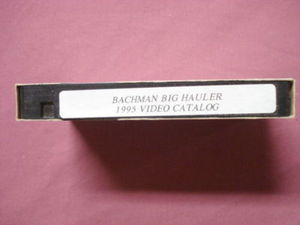Bachmann Big Hauler 1995 G Scale Video Catalog VHS
