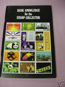 Basic Knowledge For The Stamp Collector Joe Brockert SC