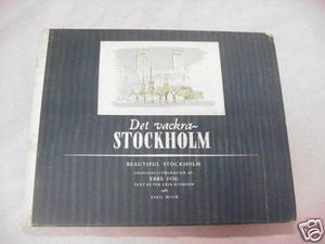 Beautiful Stockholm 1950's HC Ebbe Fog