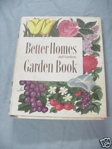 Better Homes and Gardens Garden Book 1954 HC