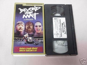 Beyond the Mat VHS WWF ECW