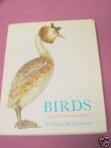 Birds of Heath and Marshland 1964 HC O. Stepanek