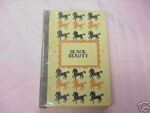 Black Beauty by Anna Sewell 1946 Hardcover