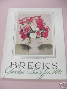 Breck's Garden Book For 1941 Boston, Mass. Flowers