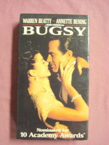 Bugsy VHS 1992 Warren Beatty Annette Bening Crime Drama