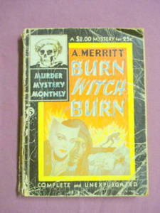 Burn Witch Burn Murder Merrit Mystery Monthly #5 1942