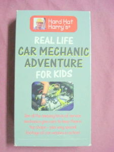 Car Mechanic Adventure For Kids 1996 VHS Runs Great!