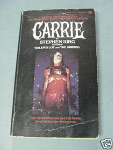 Carrie by Stephen King 1975 PB 8 Pages of Movie Photos