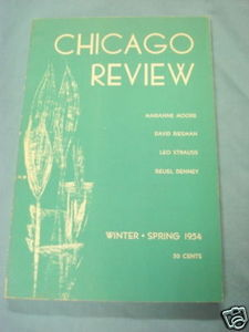 Chicago Review May, Winter-Spring 1954 Vol. 8, No. 1