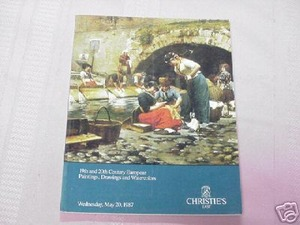 Christie's 1987 Catalog 19th & 20th Century Paintings