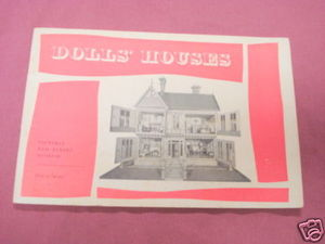 Dolls' Houses Victoria and Albert Museum London 1960 SC